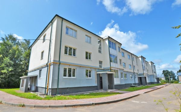 Просторная квартира в новом доме в Волоколамске